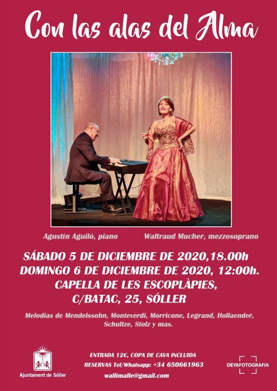 Waltraud Mucher und Agustin Aguiló 05.12. @ Capella de los Escolàpies | Sóller | Illes Balears | Spain