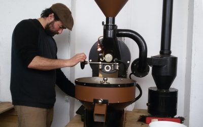 Tour-Kaffeerösterei und Weberei