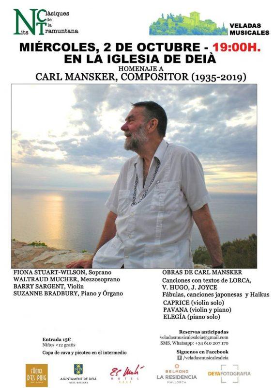 02.10. Musikabende in der Kirche von Deià @ C/ Rvd. Jerónimo Pons Deià | Deià | Balearische Inseln | Spanien