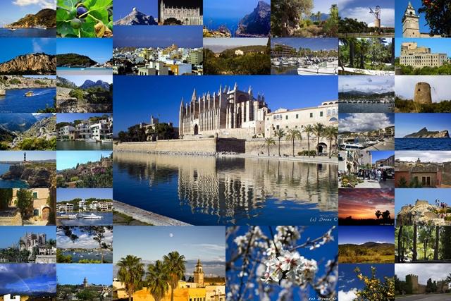 Mallorca Collage