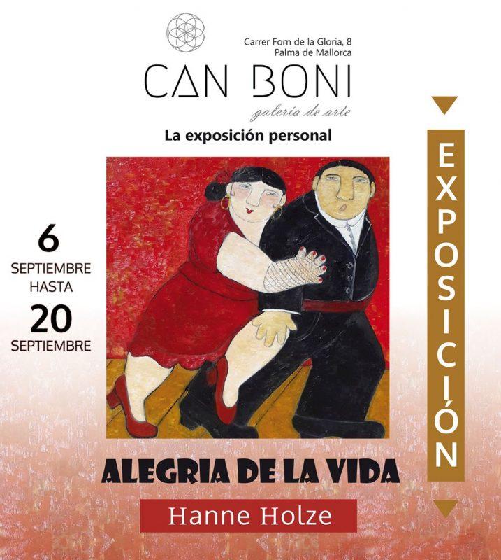 HANNE HOLZE Ausstellung in der Galerie CAN BONI, Palma @ Galeria del arte CAN BONI | Palma | Illes Balears | Spanien