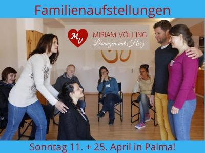 Familienaufstellung in Palma 11.04. @ Aula Balear de Gestalt | Palma | Illes Balears | Spain