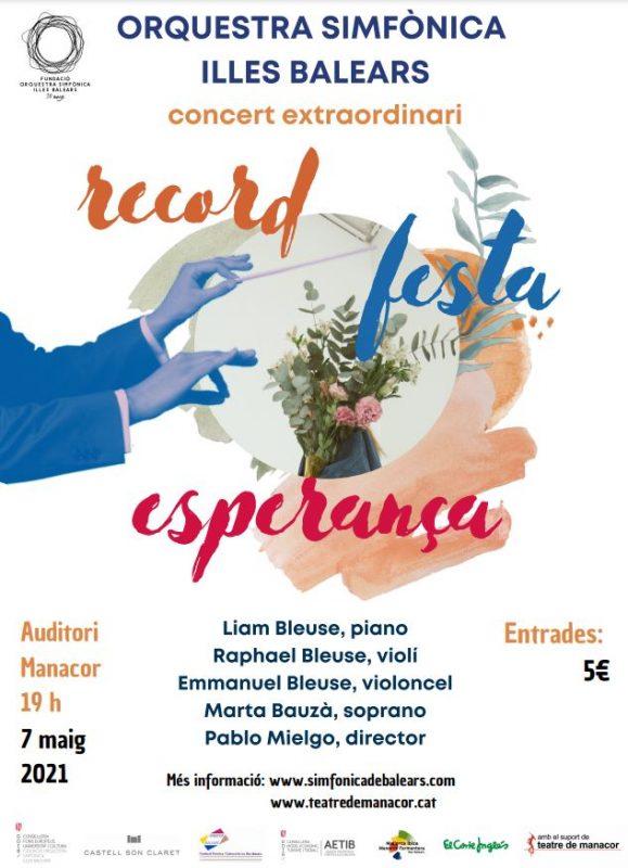 Auditorium von Manacor 07.05. @ Auditori Manacor | Manacor | Illes Balears | Spanien