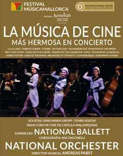 11.10. Film Melodien live im Konzert @ Auditorium de Palma | Palma | Illes Balears | Spanien