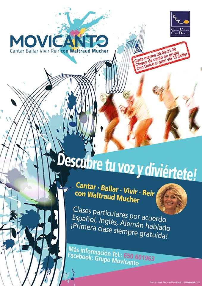 Movicanto-Workshop 11/18 @ Centre Cultural Can Dulce | Sóller | Illes Balears | Spanien