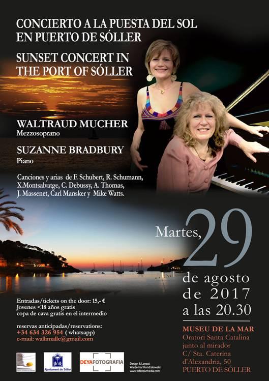 Sonnenuntergangskonzert im Hafen von Soller @ MUSEU DE LA MAR Oratori Santa Catalina | Puerto de Sóller | Illes Balears | Spanien
