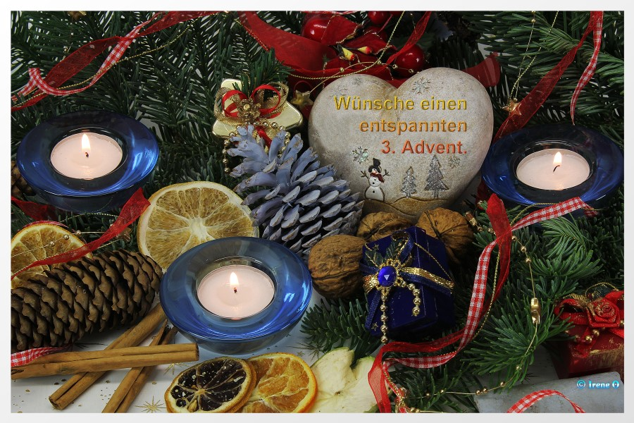 Dritter Advent, 15.12.2019
